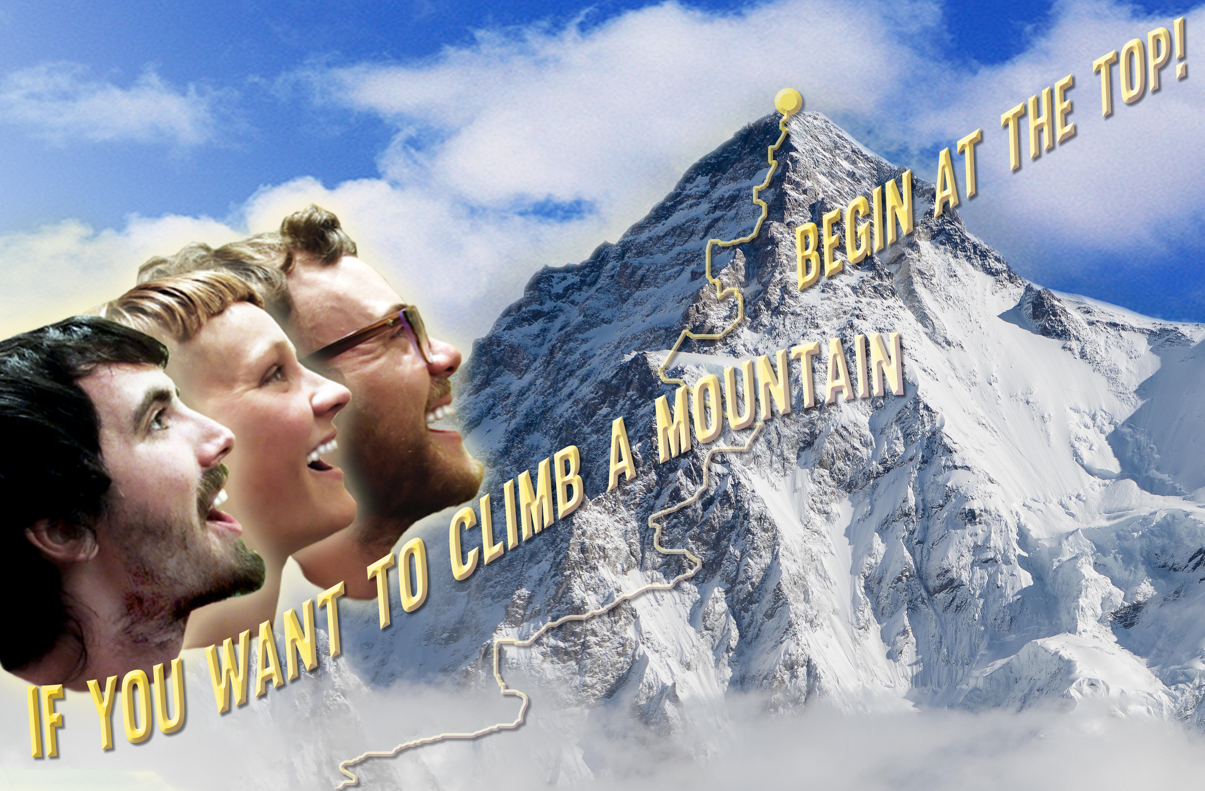 if you want to climb a mountain hi res