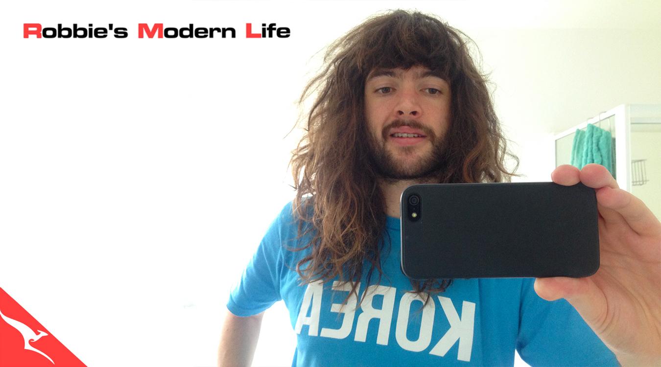 Robbie's Modern Life - header