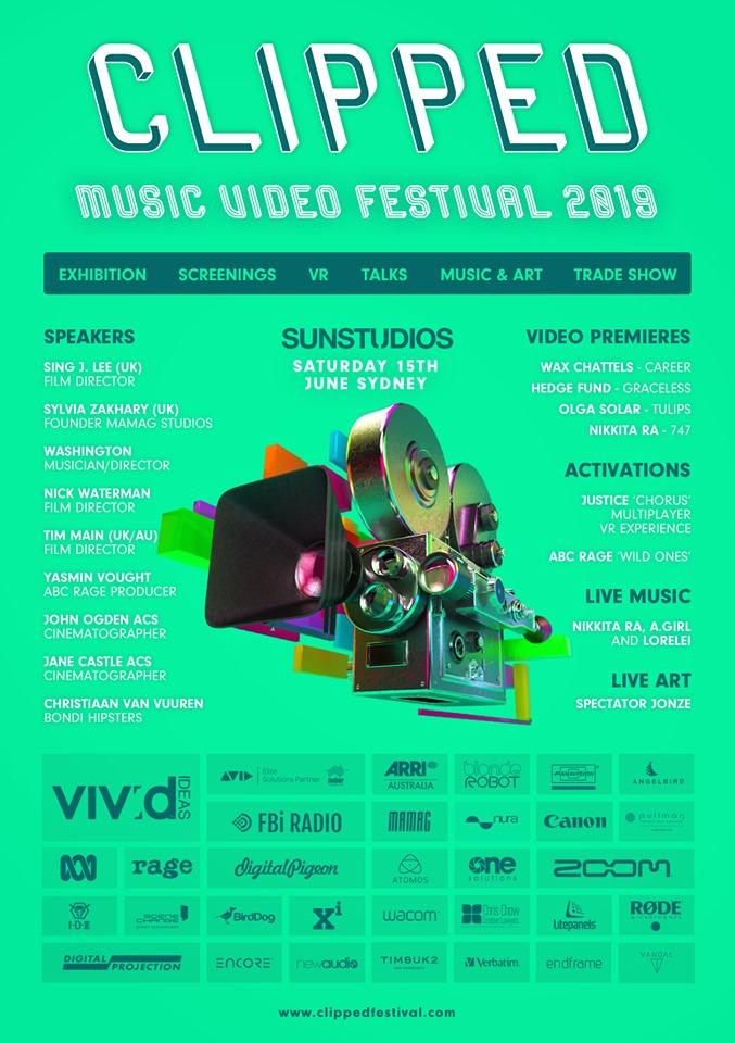 FBi Radio Presents: Clipped Music Video Festival 2019 | FBi