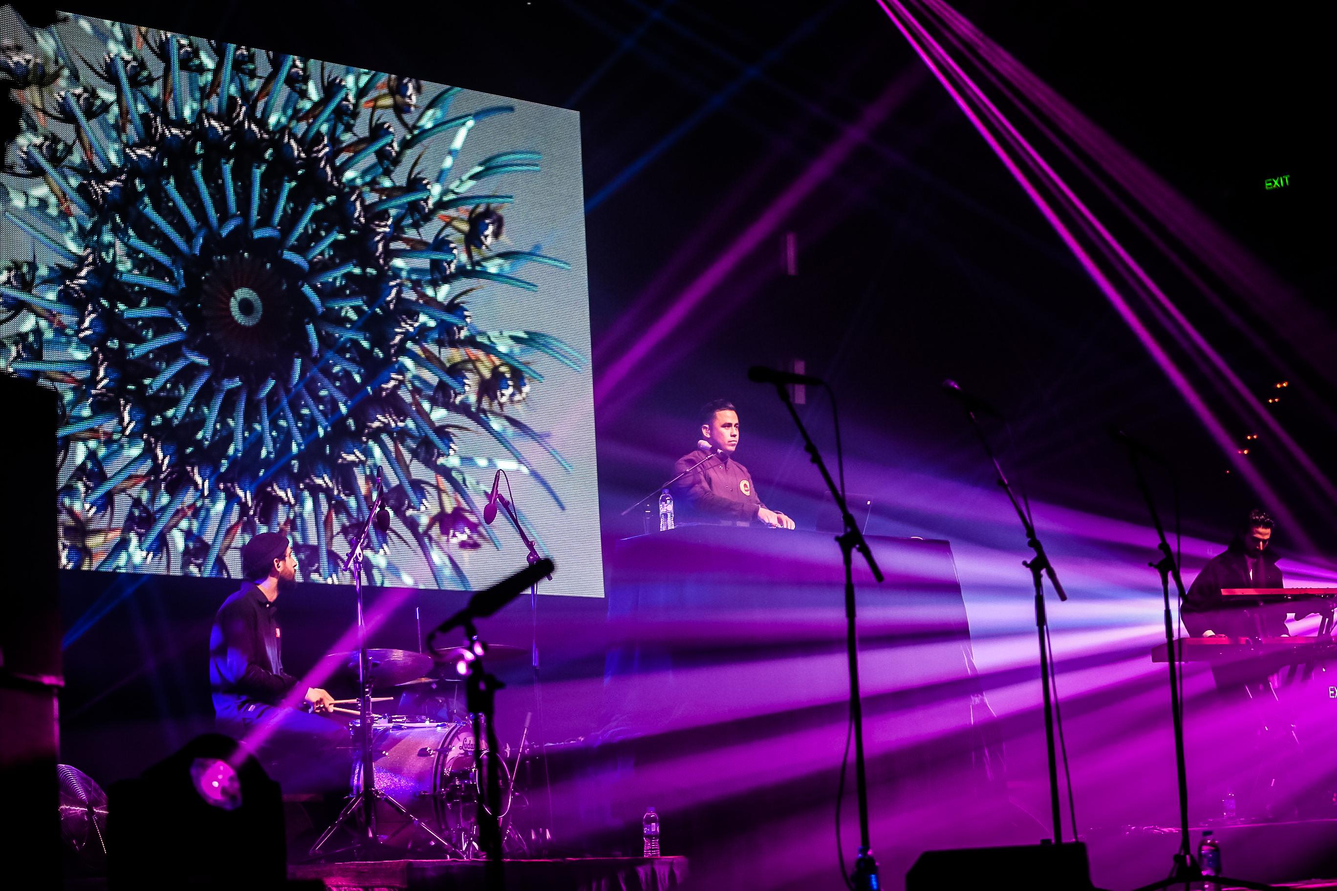 FBi Presents: Ta-ku at Sydney Opera House for Vivid LIVE | 3.6.16 | Photo by Satsuki Minoda