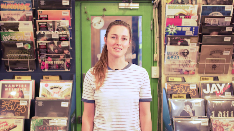 Adi Toohey - The Record Store - 2016