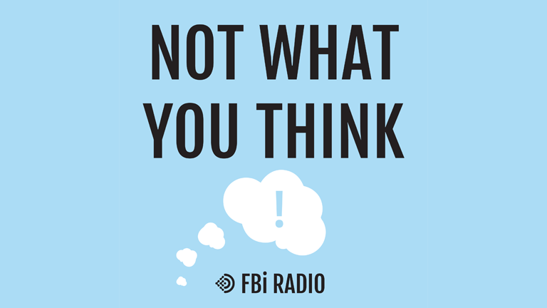 Not What You Think (banner)